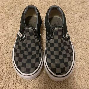 Slip on Vans. Size 12c.